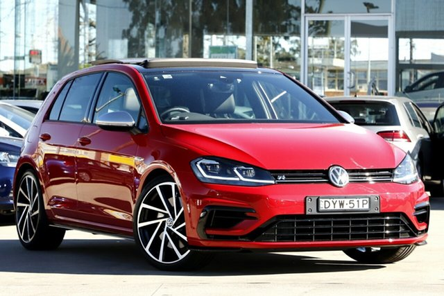 Used Volkswagen Golf R DSG 4MOTION, Waitara, 2018 Volkswagen Golf R DSG 4MOTION Hatchback