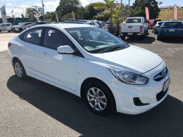 Used Hyundai Accent Active, Gladstone, 2012 Hyundai Accent Active Sedan