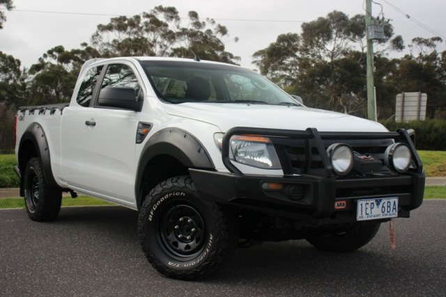 Used Ford Ranger XL Super Cab, Officer, 2015 Ford Ranger XL Super Cab Utility
