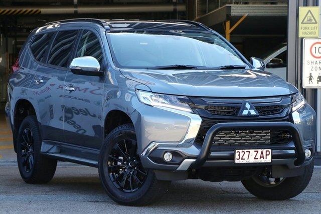 Demonstrator, Demo, Near New Mitsubishi Pajero Sport Black Edition, Bowen Hills, 2019 Mitsubishi Pajero Sport Black Edition Wagon