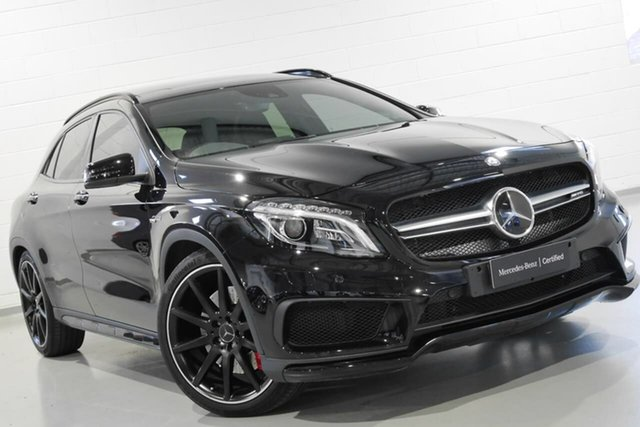 Used Mercedes-Benz GLA-Class GLA45 AMG SPEEDSHIFT DCT 4MATIC, Warwick Farm, 2015 Mercedes-Benz GLA-Class GLA45 AMG SPEEDSHIFT DCT 4MATIC Wagon