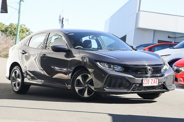 Demonstrator, Demo, Near New Honda Civic VTi, Indooroopilly, 2019 Honda Civic VTi Hatchback