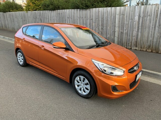 Used Hyundai Accent Active, North Hobart, 2015 Hyundai Accent Active Hatchback