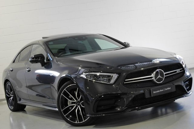 Used Mercedes-Benz CLS53 AMG Coupe 9G-Tronic PLUS 4MATIC+, Warwick Farm, 2018 Mercedes-Benz CLS53 AMG Coupe 9G-Tronic PLUS 4MATIC+ Sedan