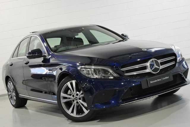 Used Mercedes-Benz C-Class C200 9G-TRONIC, Chatswood, 2018 Mercedes-Benz C-Class C200 9G-TRONIC Sedan