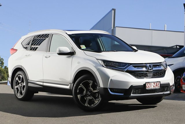 Demonstrator, Demo, Near New Honda CR-V VTi-LX 4WD, Indooroopilly, 2019 Honda CR-V VTi-LX 4WD Wagon