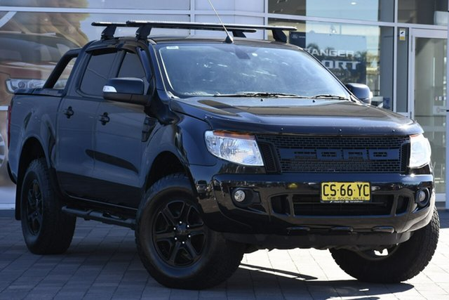Used Ford Ranger XLT Double Cab, Narellan, 2014 Ford Ranger XLT Double Cab Utility
