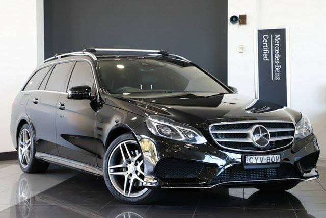 Used Mercedes-Benz E250 CDI Estate 7G-Tronic +, Warwick Farm, 2015 Mercedes-Benz E250 CDI Estate 7G-Tronic + Wagon