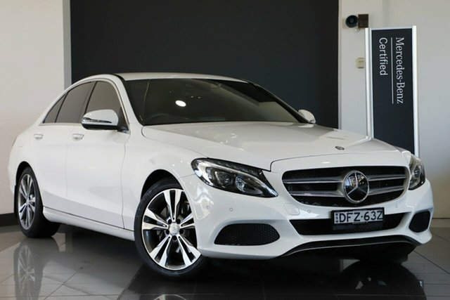 Used Mercedes-Benz C250 7G-Tronic +, Southport, 2016 Mercedes-Benz C250 7G-Tronic + Sedan