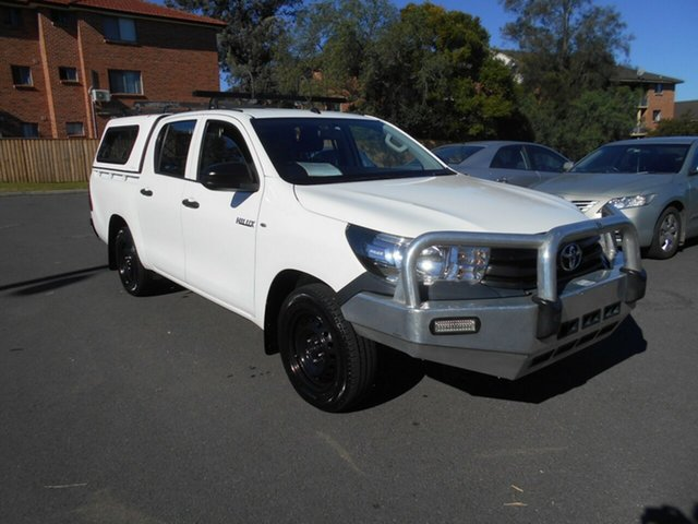 Used Toyota Hilux Workmate, Bankstown, 2015 Toyota Hilux Workmate Dual Cab Utility