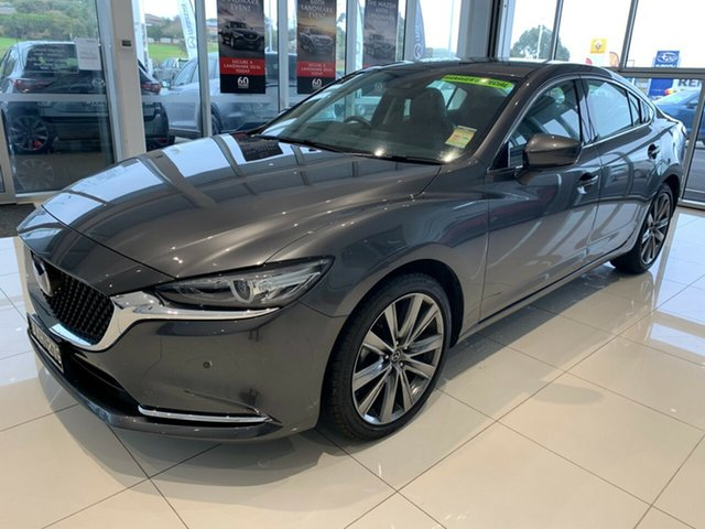 Demonstrator, Demo, Near New Mazda 6, Warrnambool East, 2018 Mazda 6 Sedan