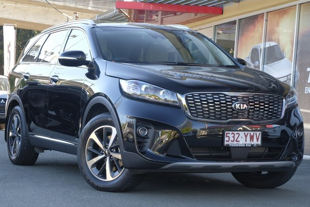 Demonstrator, Demo, Near New Kia Sorento SLi AWD, Toowong, 2018 Kia Sorento SLi AWD Wagon