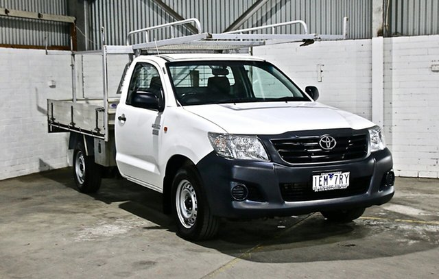 Used Toyota Hilux Workmate 4x2, Thomastown, 2015 Toyota Hilux Workmate 4x2 Cab Chassis
