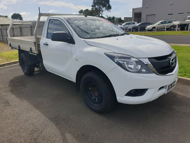 Used Mazda BT-50, Warrnambool East, 2016 Mazda BT-50 Cab Chassis