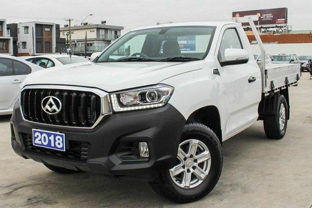 Used LDV T60 Pro, Coburg North, 2018 LDV T60 Pro Cab Chassis