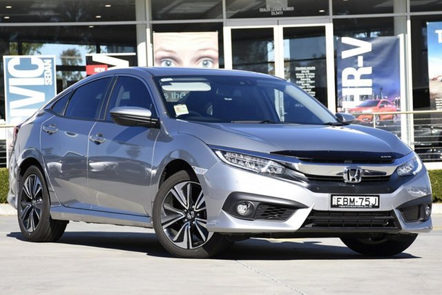 Discounted Demonstrator, Demo, Near New Honda Civic VTi-LX, Narellan, 2018 Honda Civic VTi-LX Sedan