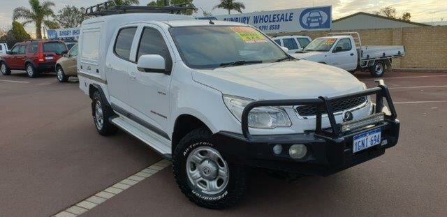 Discounted Used Holden Colorado LX Crew Cab, East Bunbury, 2014 Holden Colorado LX Crew Cab Utility