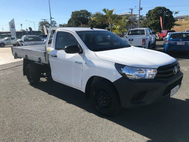 Used Toyota Hilux Workmate 4x2, Gladstone, 2018 Toyota Hilux Workmate 4x2 Cab Chassis