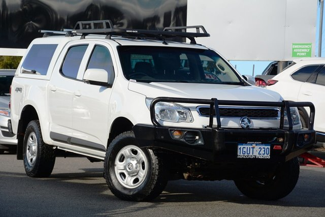 Used Holden Colorado LS (4x4), Mandurah, 2014 Holden Colorado LS (4x4) Crew Cab Pickup