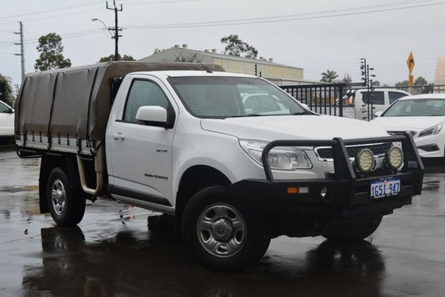 Used Holden Colorado LX (4x4), Kewdale, 2013 Holden Colorado LX (4x4) Cab Chassis