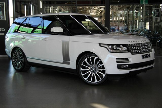 Used Land Rover Range Rover V8SC Autobiography, North Melbourne, 2015 Land Rover Range Rover V8SC Autobiography Wagon