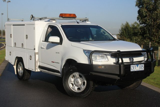 Used Holden Colorado LX, Officer, 2013 Holden Colorado LX Cab Chassis