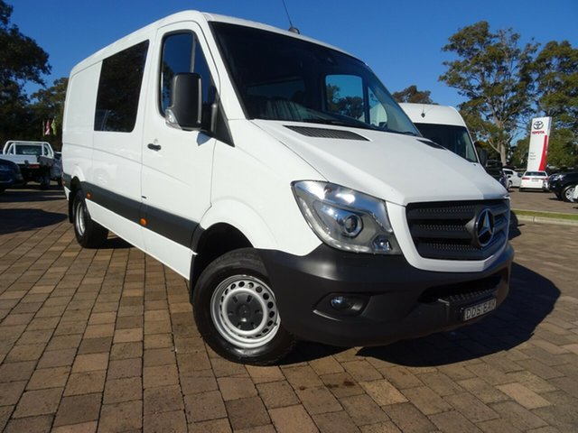 Used Mercedes-Benz Sprinter 416CDI Low Roof MWB 7G-Tronic, Warwick Farm, 2015 Mercedes-Benz Sprinter 416CDI Low Roof MWB 7G-Tronic Van