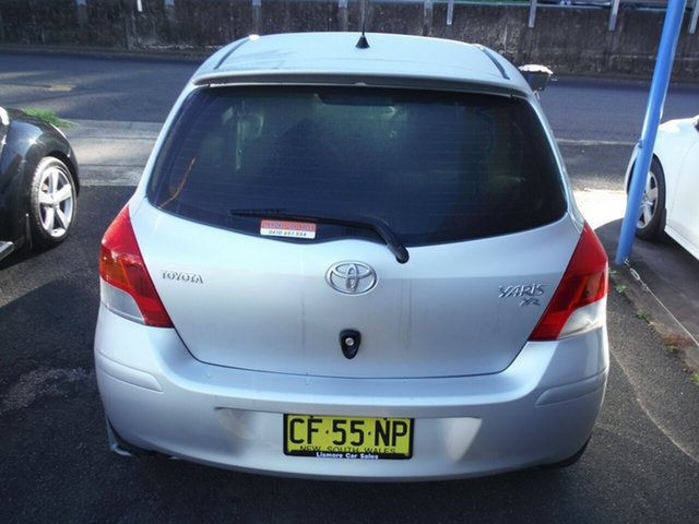 Used Toyota Yaris YR, East Lismore, 2009 Toyota Yaris YR NCP90R 08 Upgrade Hatchback
