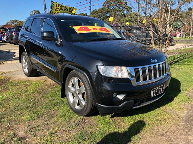 Used Jeep Grand Cherokee Limited, Cranbourne, 2011 Jeep Grand Cherokee Limited Wagon