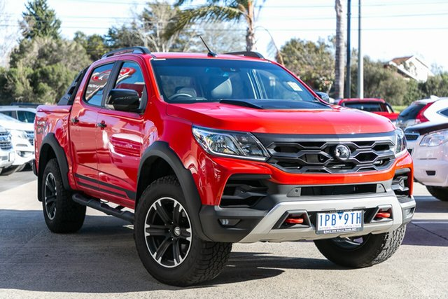 Demonstrator, Demo, Near New Holden Special Vehicles Colorado SportsCat Pickup Crew Cab Look Pack, Oakleigh, 2018 Holden Special Vehicles Colorado SportsCat Pickup Crew Cab Look Pack RG MY19 Utility