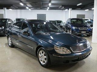 2002 Mercedes-Benz S500 L Sedan.