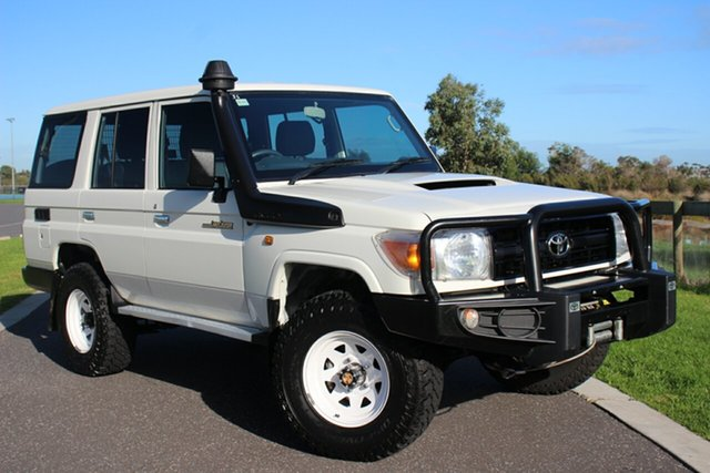Used Toyota Landcruiser Workmate, Officer, 2015 Toyota Landcruiser Workmate Wagon