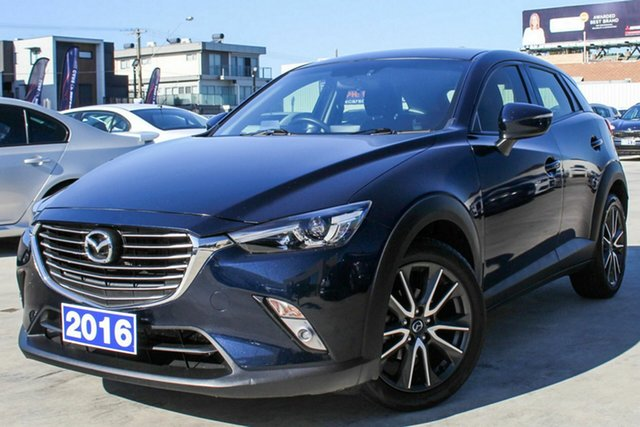 Discounted Used Mazda CX-3 sTouring SKYACTIV-MT, Coburg North, 2016 Mazda CX-3 sTouring SKYACTIV-MT Wagon