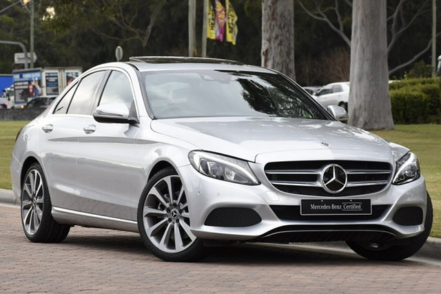 Discounted Used Mercedes-Benz C-Class C300 9G-TRONIC, Warwick Farm, 2017 Mercedes-Benz C-Class C300 9G-TRONIC Sedan