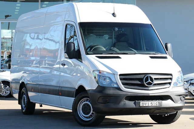 Used Mercedes-Benz Sprinter 313CDI High Roof LWB 7G-Tronic, Waitara, 2017 Mercedes-Benz Sprinter 313CDI High Roof LWB 7G-Tronic Van