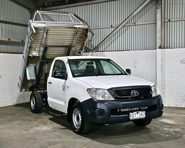 Used Toyota Hilux Workmate 4x2, Thomastown, 2010 Toyota Hilux Workmate 4x2 Cab Chassis