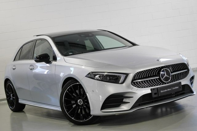 Used Mercedes-Benz A250 AMG Line D-CT 4MATIC, Warwick Farm, 2018 Mercedes-Benz A250 AMG Line D-CT 4MATIC Hatchback