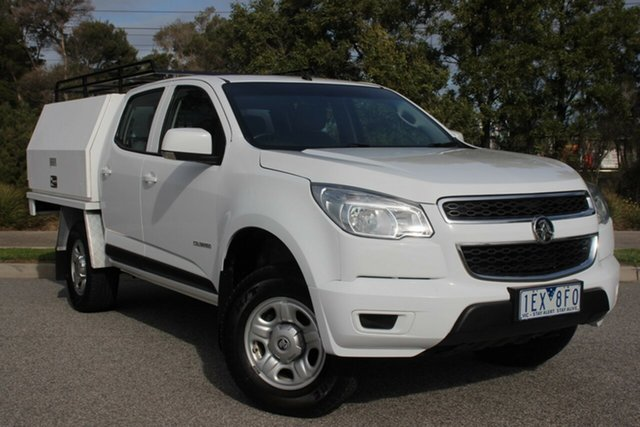 Used Holden Colorado LS Crew Cab 4x2, Officer, 2015 Holden Colorado LS Crew Cab 4x2 Cab Chassis