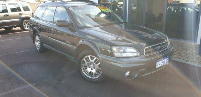 Discounted Used Subaru Outback H6 AWD Luxury, East Bunbury, 2002 Subaru Outback H6 AWD Luxury Wagon