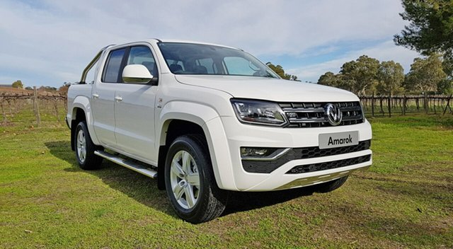 Demonstrator, Demo, Near New Volkswagen Amarok TDI550 4MOTION Perm Highline, Tanunda, 2019 Volkswagen Amarok TDI550 4MOTION Perm Highline Utility