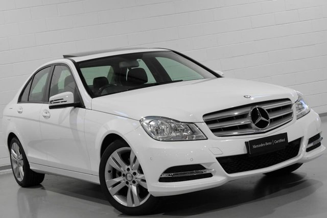 Used Mercedes-Benz C200 BlueEFFICIENCY 7G-Tronic +, Chatswood, 2012 Mercedes-Benz C200 BlueEFFICIENCY 7G-Tronic + Sedan