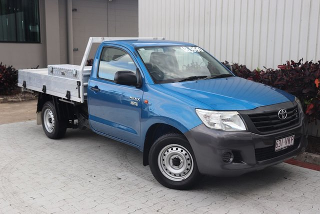 Used Toyota Hilux Workmate Double Cab 4x2, Cairns, 2013 Toyota Hilux Workmate Double Cab 4x2 Utility