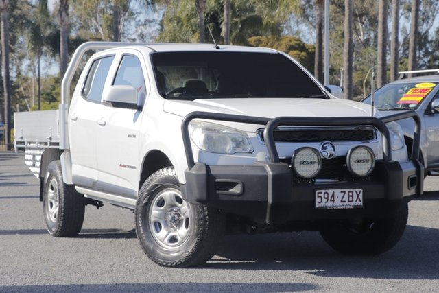 Used Holden Colorado LX Crew Cab, Beaudesert, 2013 Holden Colorado LX Crew Cab Cab Chassis
