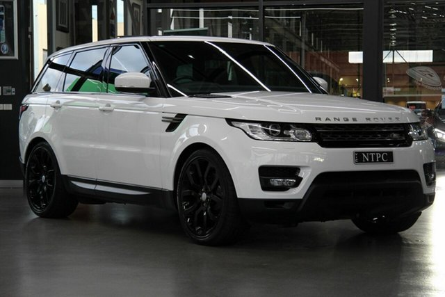 Used Land Rover Range Rover Sport TdV6 CommandShift SE, North Melbourne, 2017 Land Rover Range Rover Sport TdV6 CommandShift SE Wagon