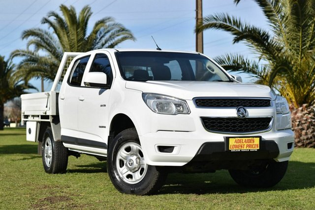 Used Holden Colorado LX Crew Cab 4x2, Enfield, 2014 Holden Colorado LX Crew Cab 4x2 Utility