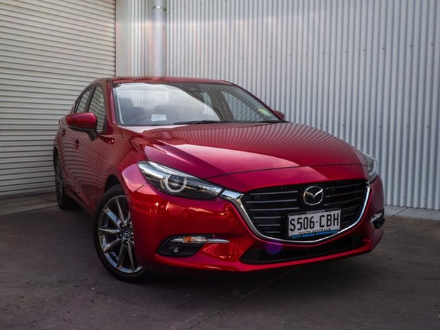 Demonstrator, Demo, Near New Mazda 3 SP25 SKYACTIV-Drive Astina, Cheltenham, 2019 Mazda 3 SP25 SKYACTIV-Drive Astina Sedan