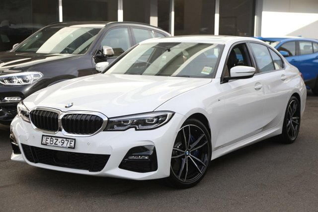 Demonstrator, Demo, Near New BMW 330i M Sport, Brookvale, 2019 BMW 330i M Sport Sedan