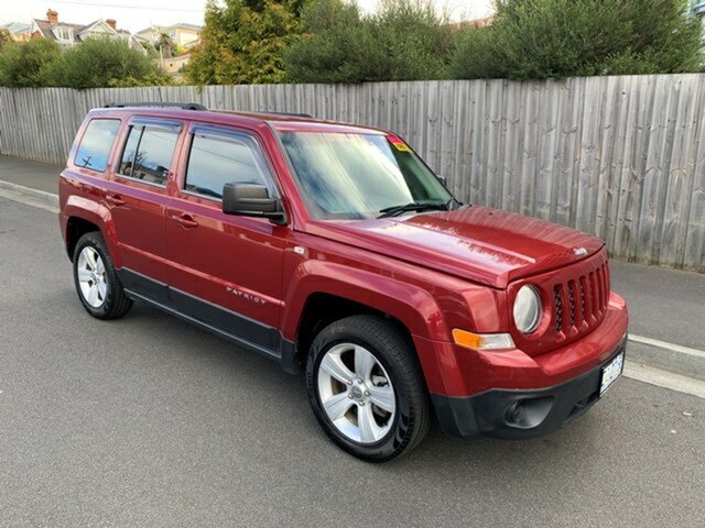 Used Jeep Patriot Sport (4x2), North Hobart, 2012 Jeep Patriot Sport (4x2) Wagon