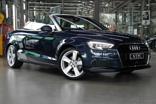 Used Audi A3 S Tronic, North Melbourne, 2017 Audi A3 S Tronic Cabriolet