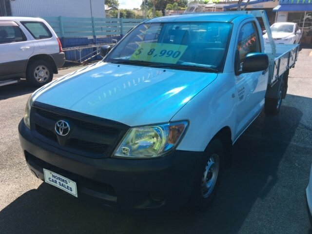 Used Toyota Hilux Workmate, North Rockhampton, 2007 Toyota Hilux Workmate Cab Chassis